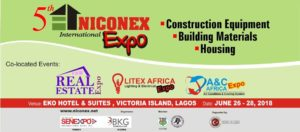 NICONEX - BUILDING MATERIALS & CONSTRUCTION EXPO @ Eko Hotel & Convention Centre