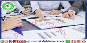 DOCUMENT CONTROL TRAINING @ JOBSKILL TRAINING CENTRE