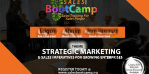 Sales BootCamp 2019 @ Lagos Chamber of Commerce and Industry