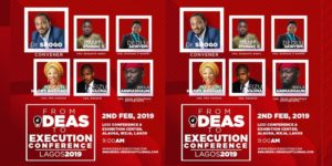 Ideas and Execution Conference @ LCCI Conference & Exhibition Centre
