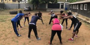 Free Gym Aerobics to help you kickstart your fitness goal for 2019. @ 10 Felicia Koleosho St,Off Opebi Road Ikeja.