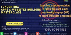 ZERO CODE MOBILE APP & WEBSITE BUILDING MASTER CLASS @ Treasure hall  Alaguntan