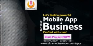 Let's Talk About Your Next mobile App Now! by Ultramedia solution @ Ultramedia solution  11 unity road off toyin street ikeja